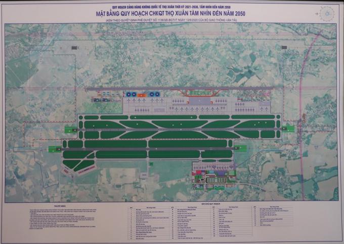 Chính thức công bố quy hoạch Cảng hàng không quốc tế Thọ Xuân - Ảnh 1.