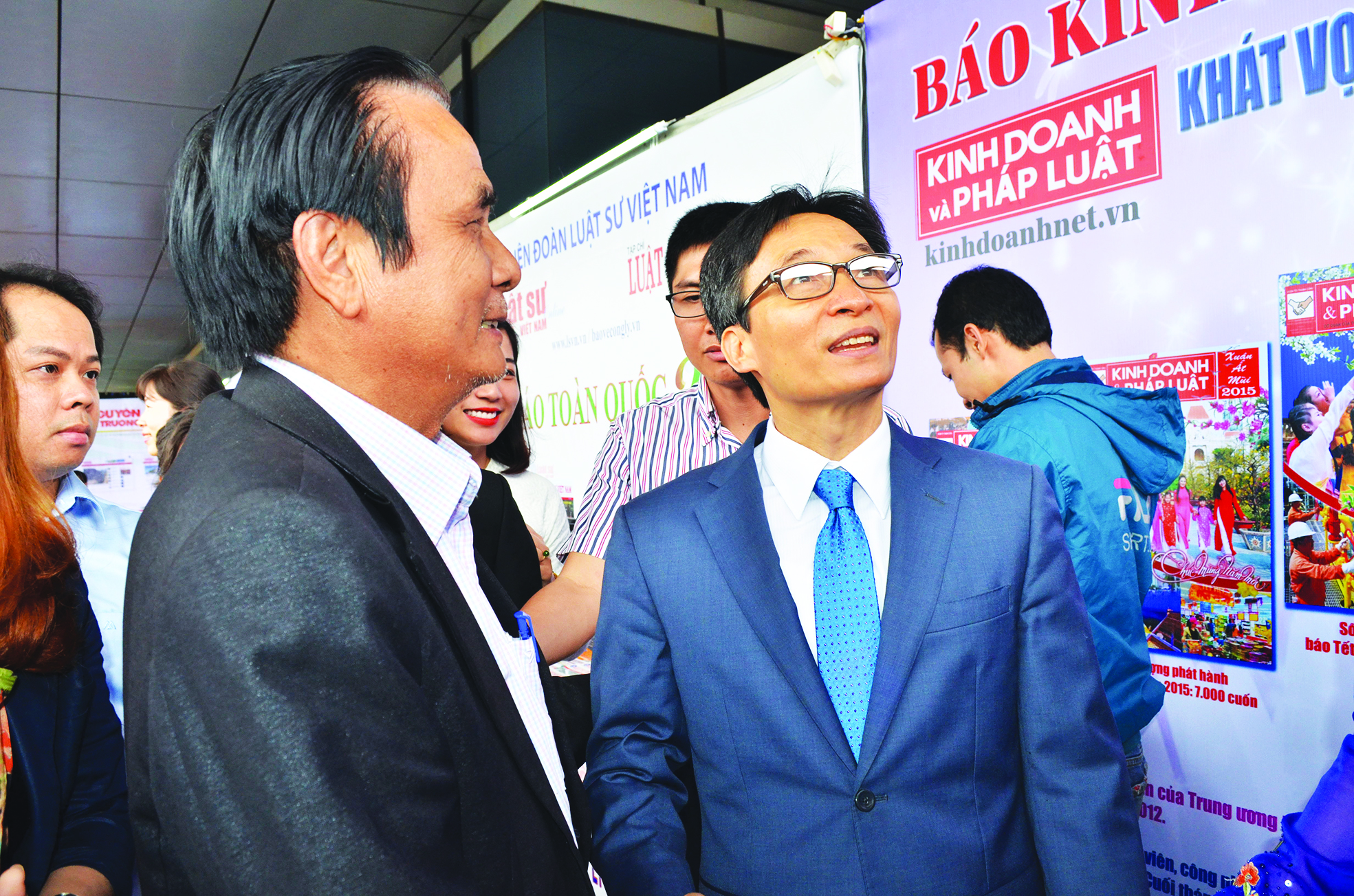 Xuân về tưởng nhớ cố Tổng biên tập Lưu Vinh - Ảnh 2.