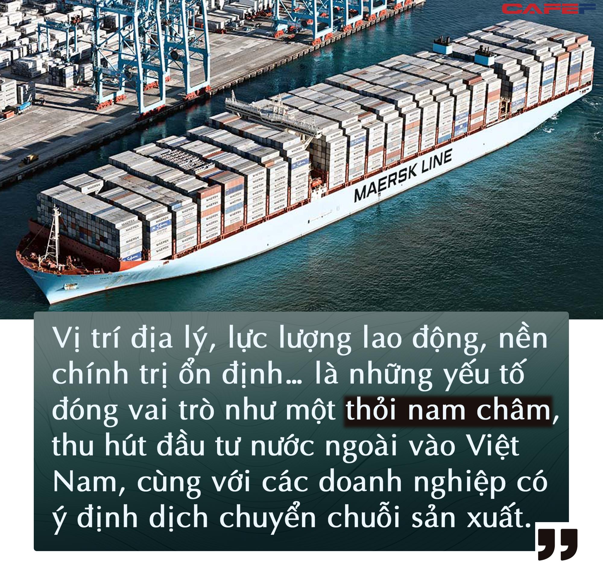 Hãng container lớn nhất thế giới Maersk mở rộng hoạt động kinh doanh kho bãi tại Việt Nam - Ảnh 1.