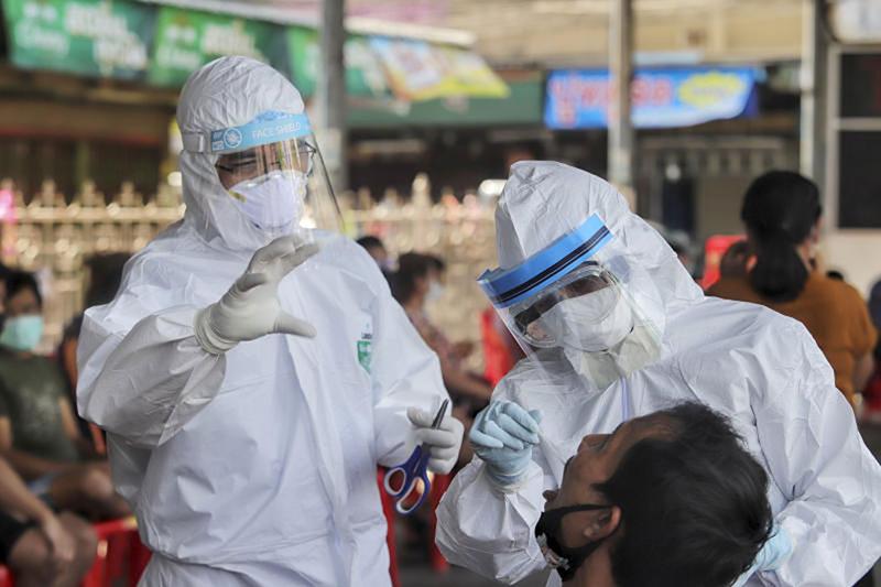 Thái Lan ghi nhận số ca tử vong do COVID-19 cao nhất từ trước tới nay - Ảnh 1.