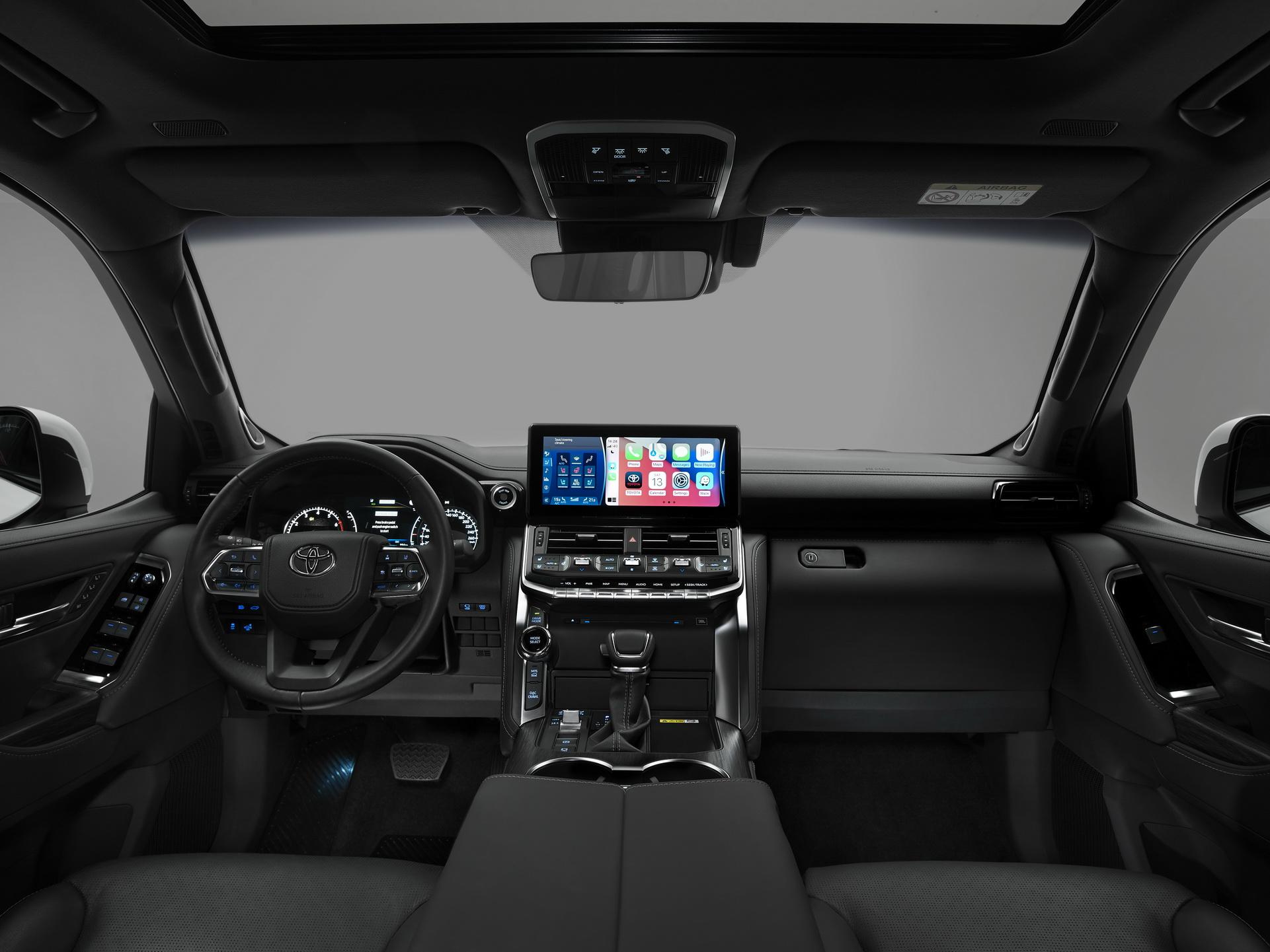Toyota Land Cruiser 2022 ra mắt: Kiểu dáng mới, động cơ tăng áp, nhiều tính năng hỗ trợ offroad - Ảnh 6.