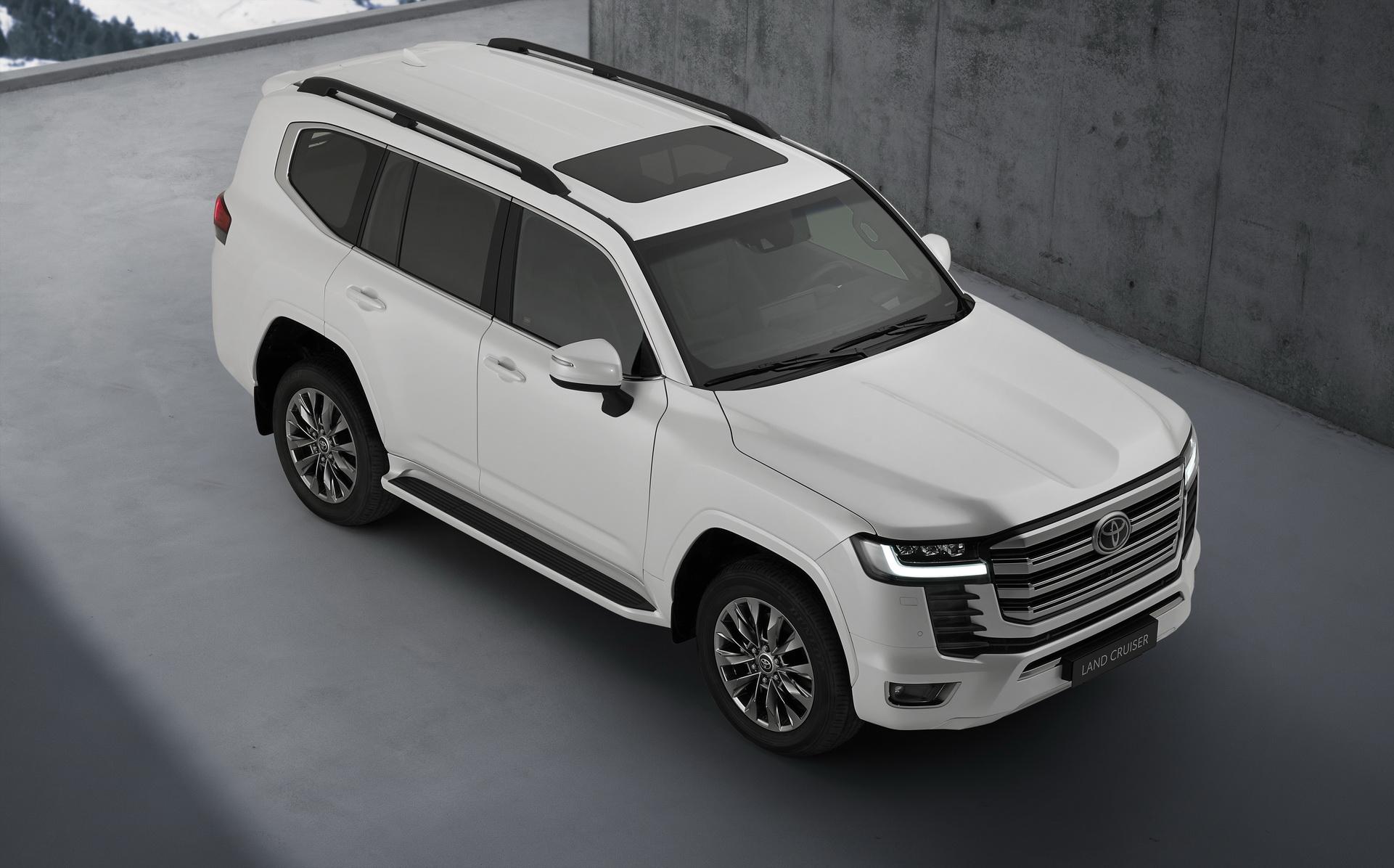 Toyota Land Cruiser 2022 ra mắt: Kiểu dáng mới, động cơ tăng áp, nhiều tính năng hỗ trợ offroad - Ảnh 4.