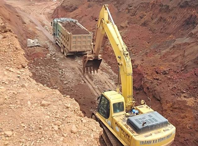 Đề nghị đóng cửa mỏ sắt của Công ty CP Thép An Khang - Ảnh 1.