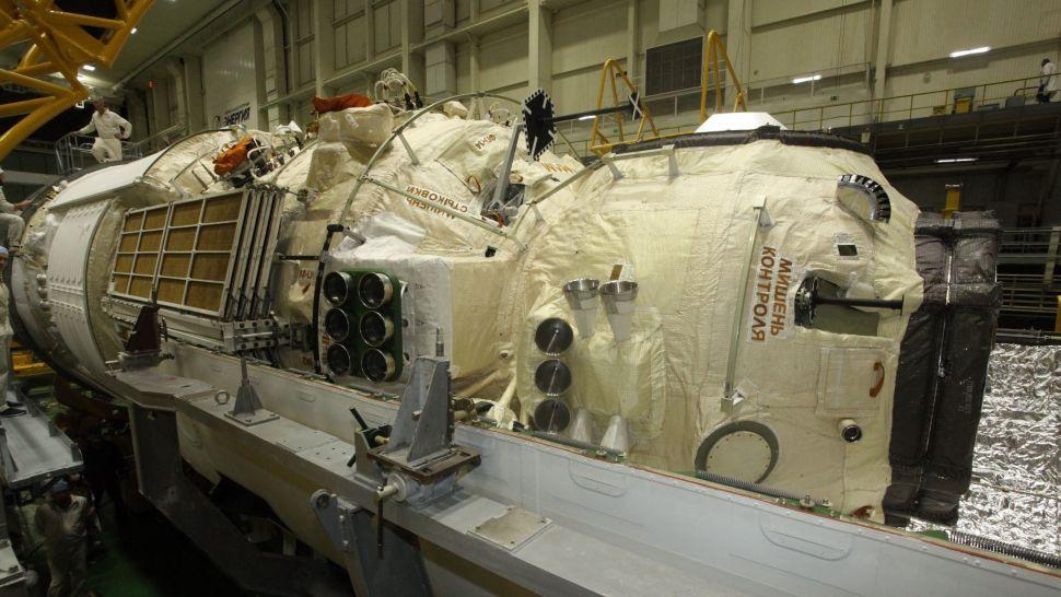 Nga phóng cỗ máy 22 tấn lên vũ trụ: Chuẩn bị ghép nối, sẽ có cỗ máy khác rơi trở lại khí quyển - Ảnh 2.