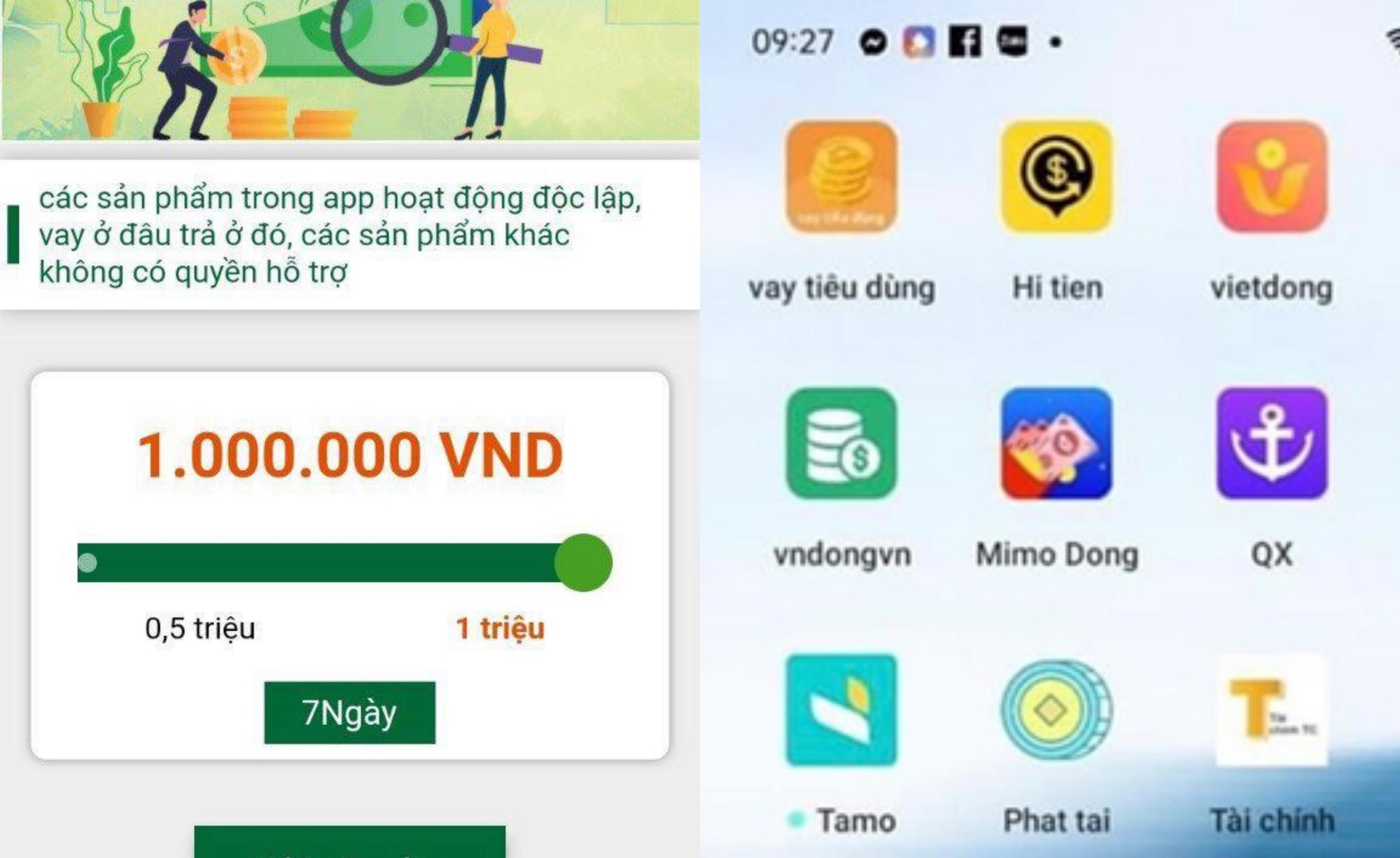 Vay 3 triệu qua App, người phụ nữ bị đưa vào tròng thành khoản nợ 480 triệu đồng - Ảnh 1.