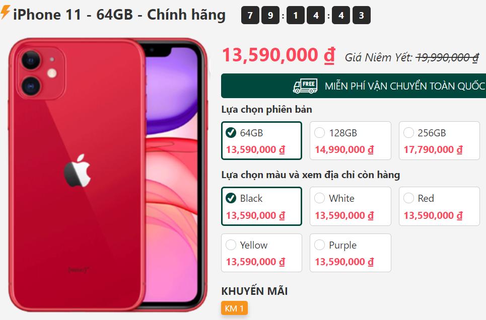 Giá iPhone 11, iPhone 12 mini tiếp tục lao dốc, nhiều smartphone đáng mua giảm giá cực sâu - Ảnh 1.