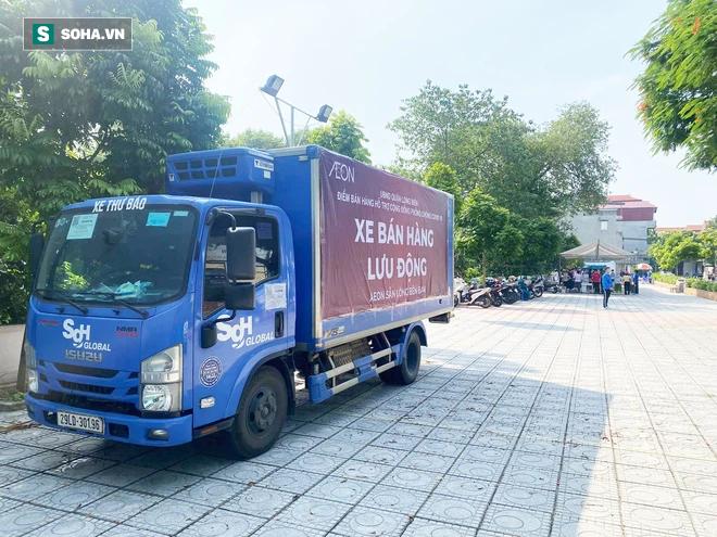 Hà Nội đã có xe bán hàng lưu động, hoạt động từ 9h30 mỗi ngày - Ảnh 1.