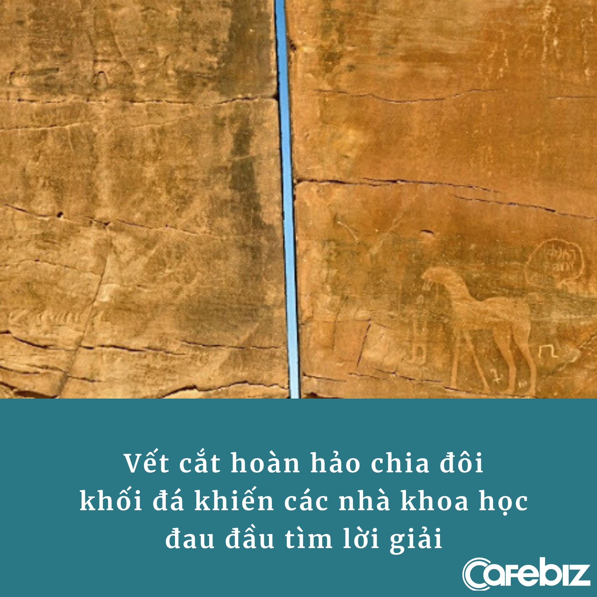 Khối đá vạn năm tuổi, nặng cả trăm tấn bị chia đôi hoàn hảo bởi vết cắt bí ẩn - Ảnh 1.