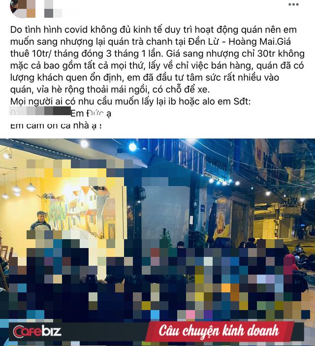 Đóng băng hoạt động gần 2 tháng, hàng loạt quán cà phê Hà Nội rao bán, đại hạ giá 4-5 lần - Ảnh 1.