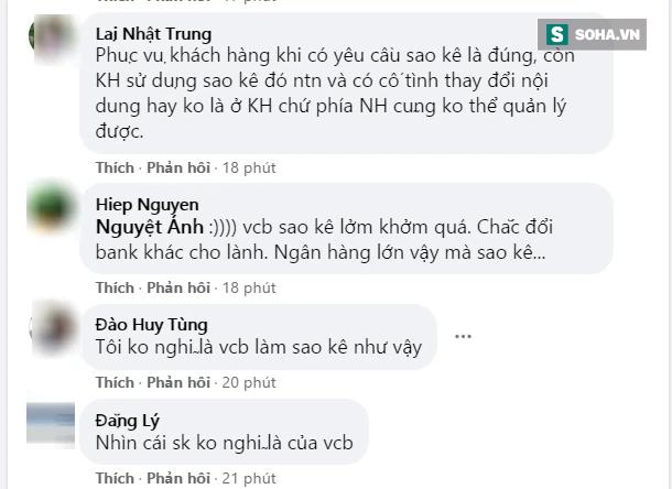 Trấn Thành sao kê tài khoản từ thiện, Fanpage ngân hàng Vietcombank bất ngờ bị tấn công - Ảnh 3.