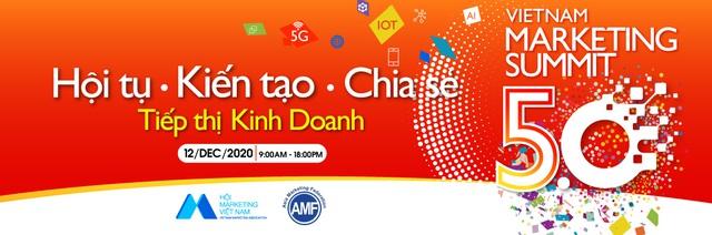 Vietnam Marketing Summit 5.0: 'Tái định hình' giá trị cơ bản vai trò marketing trong kinh doanh - Ảnh 1.