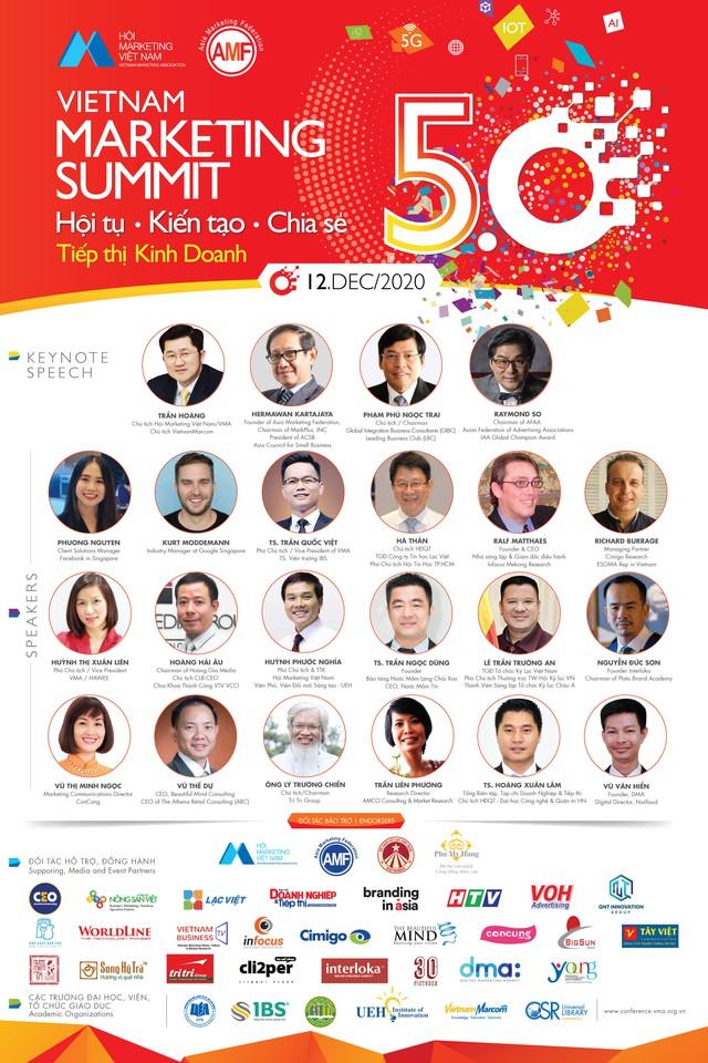 Hội nghị Thượng đỉnh Marketing Việt Nam (VMS 5.0): Hội tụ - Kiến tạo - Chia sẻ những giải pháp tiếp thị kinh doanh kỷ nguyên số - Ảnh 2.