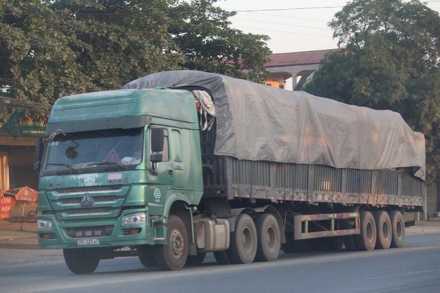 """Thanh Hóa: Những xe tải Logo """"Vip"""" của doanh nghiệp đang tung hoàng tại Tx Bỉm Sơn - Ảnh 5."""