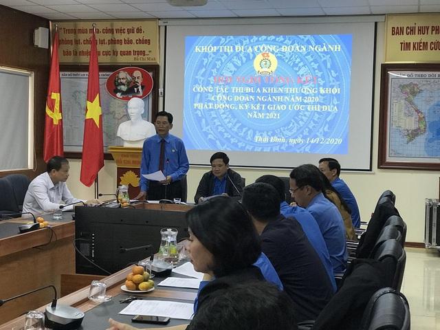 Thái Bình: Tổng kết phong trào thi đua cụm khối công đoàn ngành - Ảnh 1.
