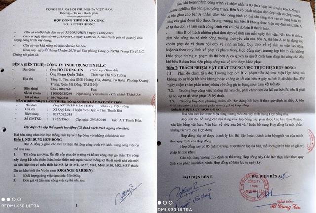 Hà Nội: Công ty TNHH Trung Tín H.L.C bị tố không trả tiền cho công nhân lao động - Ảnh 1.