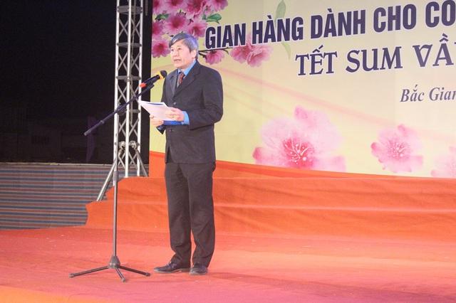 Bắc Giang: Gian hàng dành cho công nhân lao động- Ấm áp nghĩa tình - Ảnh 1.