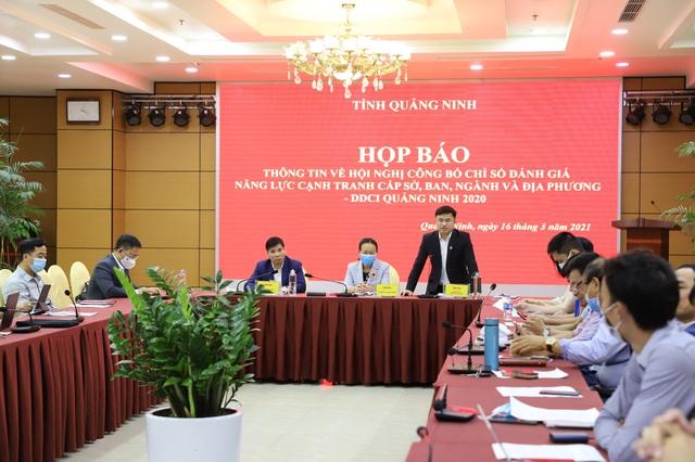 Hội nghị công bố kết quả DDCI Quảng Ninh năm 2020 - Ảnh 1.