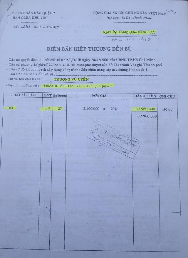 Quận 7, TP.HCM: Nhiều tình tiết quan trọng chưa được làm rõ trong vụ tranh chấp nhà đất - Ảnh 2.