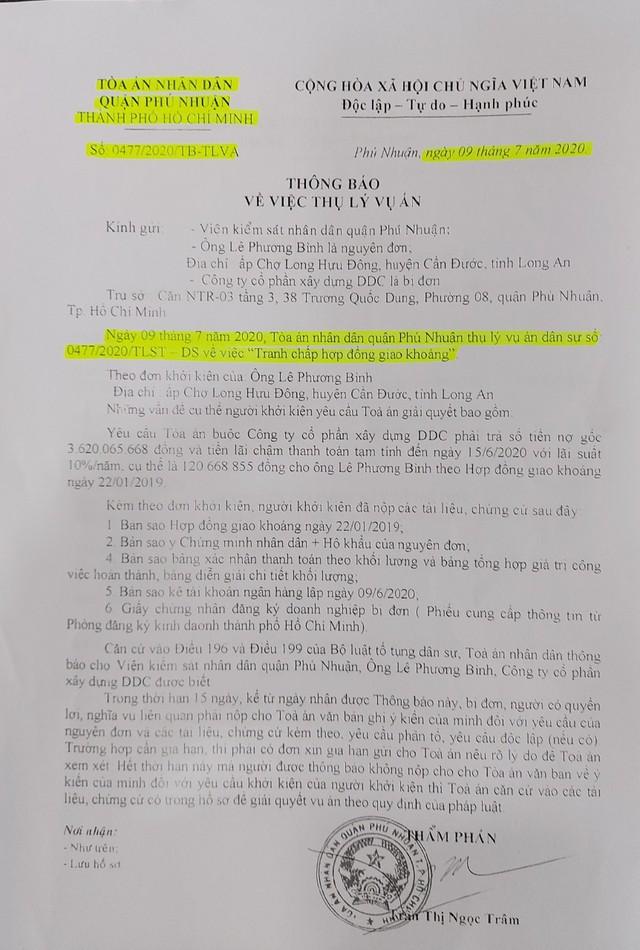 """TP. Hồ Chí Minh: Một doanh nghiệp bị """"tố"""" do chây ì trả nợ - Ảnh 2."""