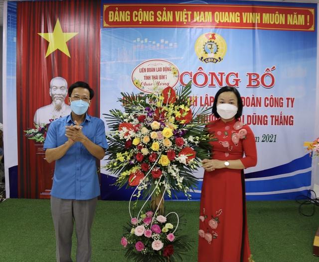 Thái Bình: Thành lập công đoàn cơ sở và kết nạp 218 đoàn viên - Ảnh 1.