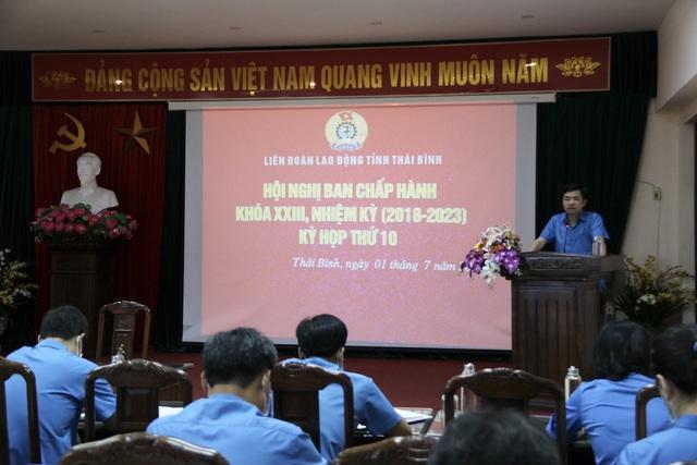 Thái Bình: Các cấp công đoàn tỉnh Thái Bình nhiều hoạt động thiết thực 6 tháng đầu năm 2021 - Ảnh 1.