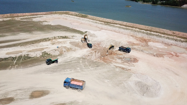 Nghệ An:  Dự án nạo vét hồ thủy lợi hay khai thác khoáng sản ?  - Ảnh 2.