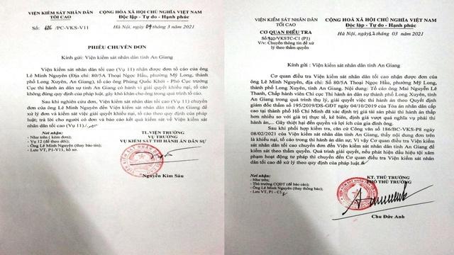 Cần làm rõ trách nhiệm của Cơ quan Thi hành án tỉnh An Giang liên quan Quyết định Giám đốc thẩm số 195/2019/DS-GĐT - Ảnh 2.