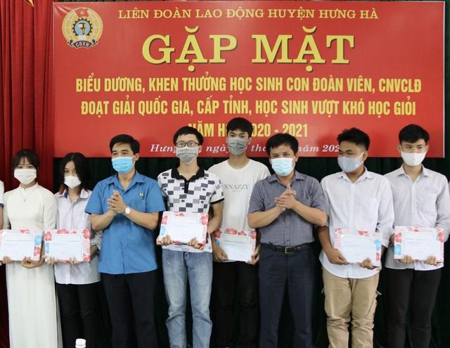 Thái Bình: Biểu dương, khen thưởng  con đoàn viên, công nhân lao động - Ảnh 2.