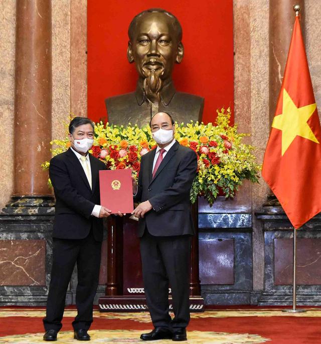 Bổ nhiệm Phó Trưởng ban Ban Đối ngoại TƯ làm Đại sứ Việt Nam tại Campuchia - Ảnh 1.