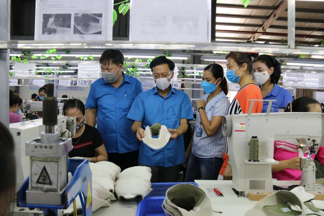 Thái Bình: Đẩy mạnh công tác phòng chống dịch để đảm bảo việc làm, thu nhập cho người lao động - Ảnh 1.