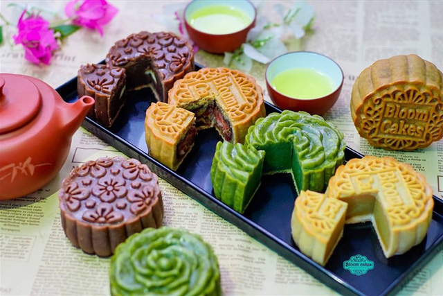 Chiêm ngưỡng bánh Trung thu của Việt Nam và các nước trên thế giới - Ảnh 4.