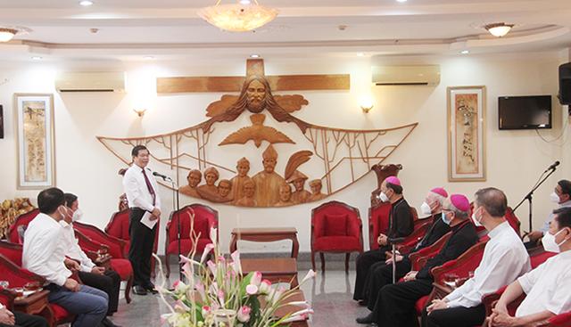 Đồng Nai: Tòa Giám mục Giáo phận Xuân Lộc góp phần quan trọng trong cuộc chiến chống đại dịch Covid-19