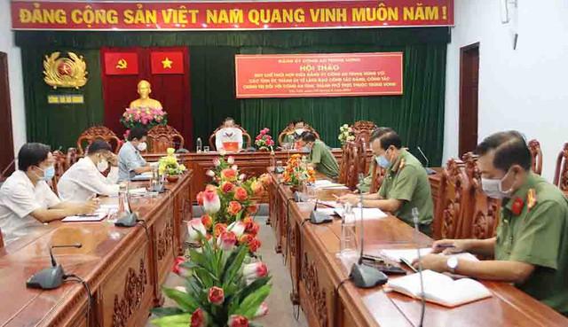 Quang cảnh Hội thảo tại điểm cầu An Giang.
