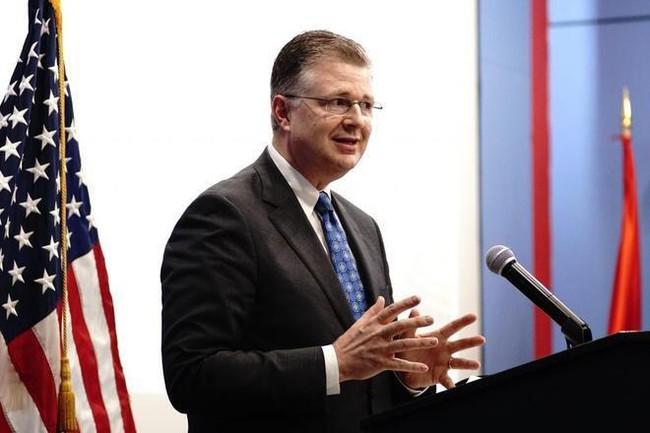 Đại sứ Hoa Kỳ tại Việt Nam Daniel J. Kritenbrink. Ảnh: ST