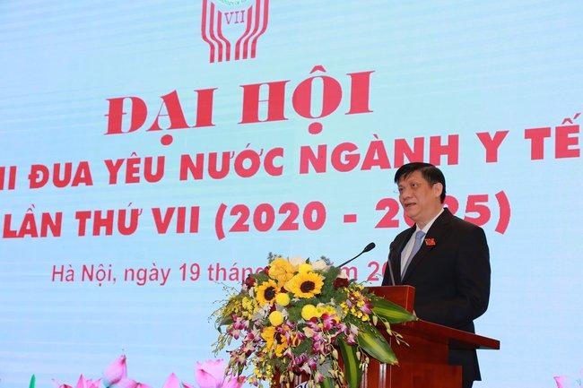Đại hội Thi đua yêu nước ngành Y tế lần thứ VII, giai đoạn 2020 - 2025 - Ảnh 1.