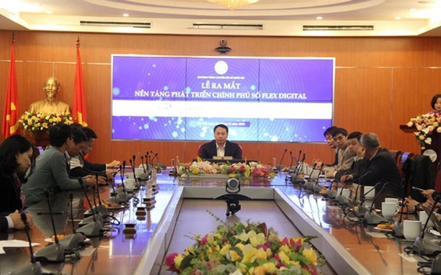 Chính thức ra mắt nền tảng phát triển Chính phủ số Flex Digital