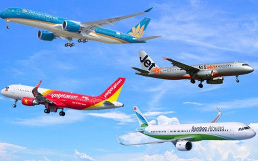 Các hãng bay đồng loạt bán hàng triệu vé Tết 2021