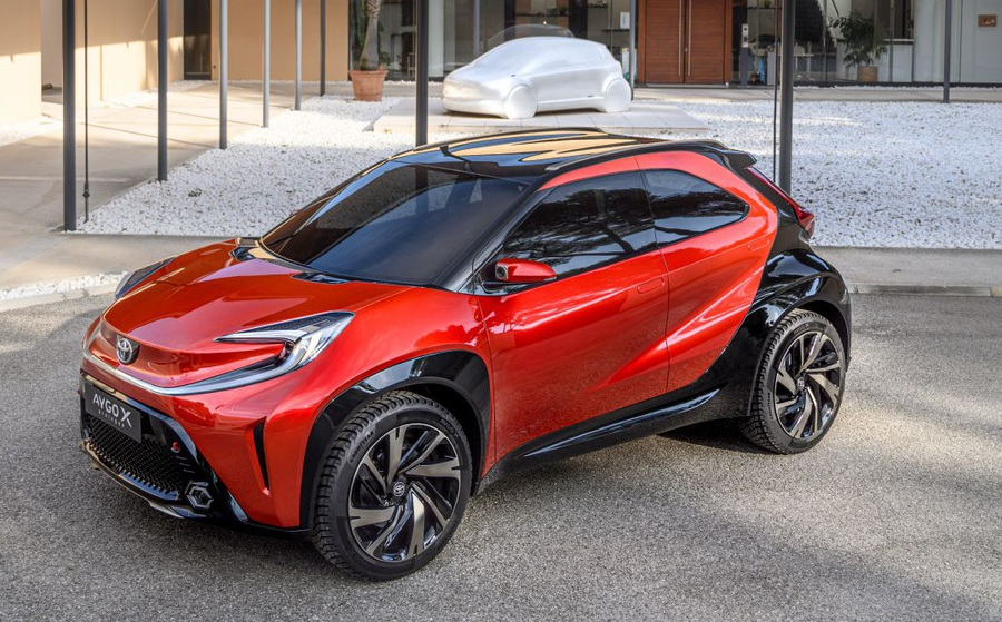 Mãn nhãn mẫu xe đô thị mới của Toyota mang tên Aygo X