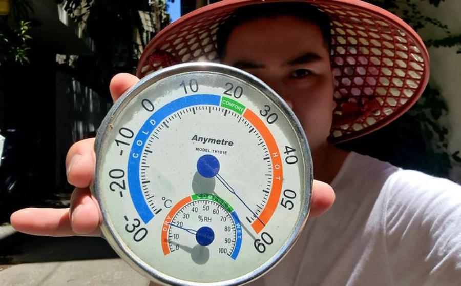 Nhiệt độ bề mặt ngoài trời có lúc lên tới 60 độ C ở Hà Nội, nắng nóng gay gắt khi nào chấm dứt?