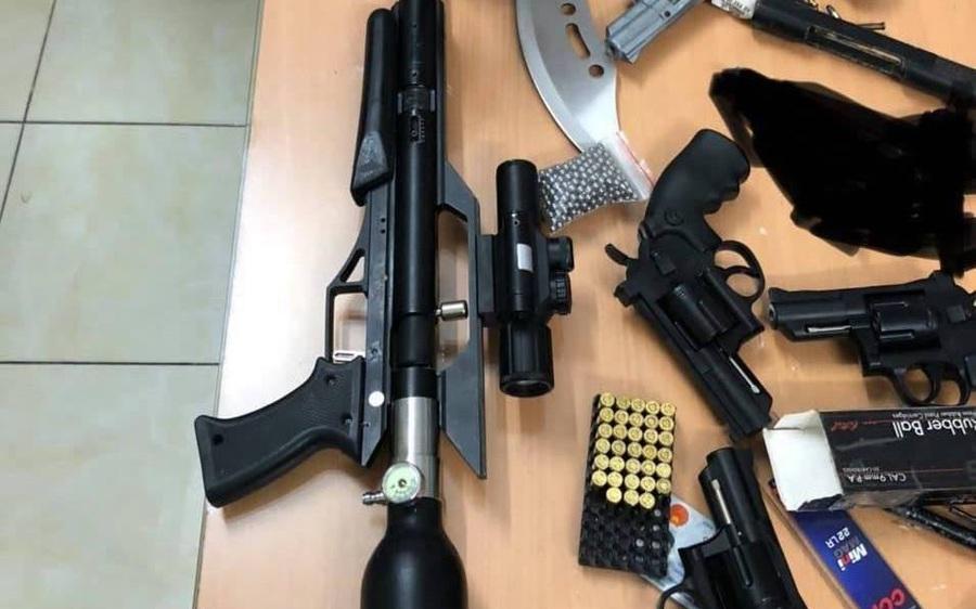 Phát hiện kho súng đạn, công cụ hỗ trợ… của nam thanh niên ở giữa trung tâm Sài Gòn