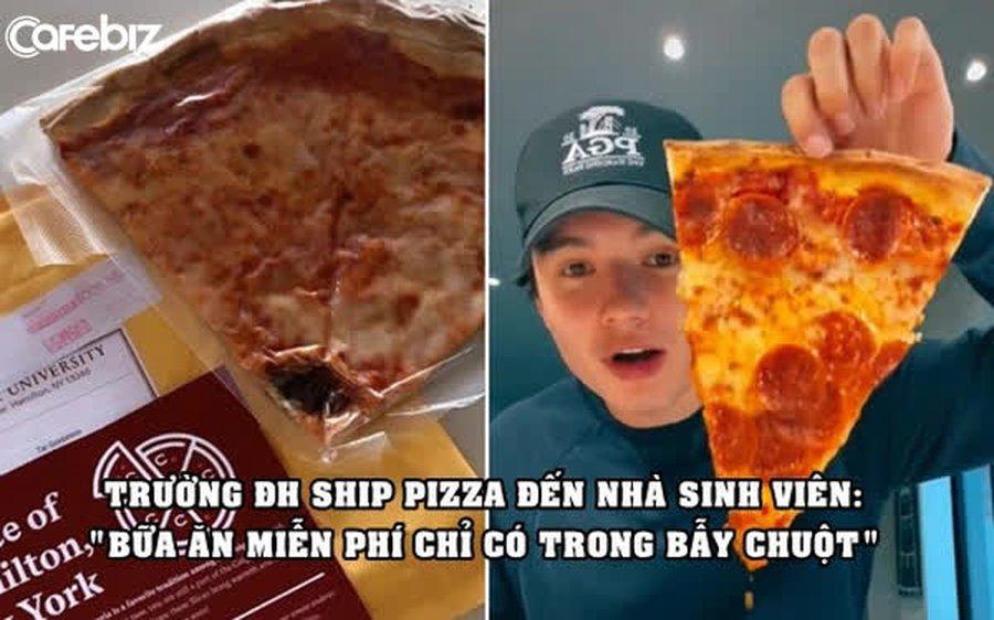 'Mưu đồ' marketing thắng lớn của một trường đại học: Ship pizza đến tận nhà sinh viên học online qua đường bưu điện