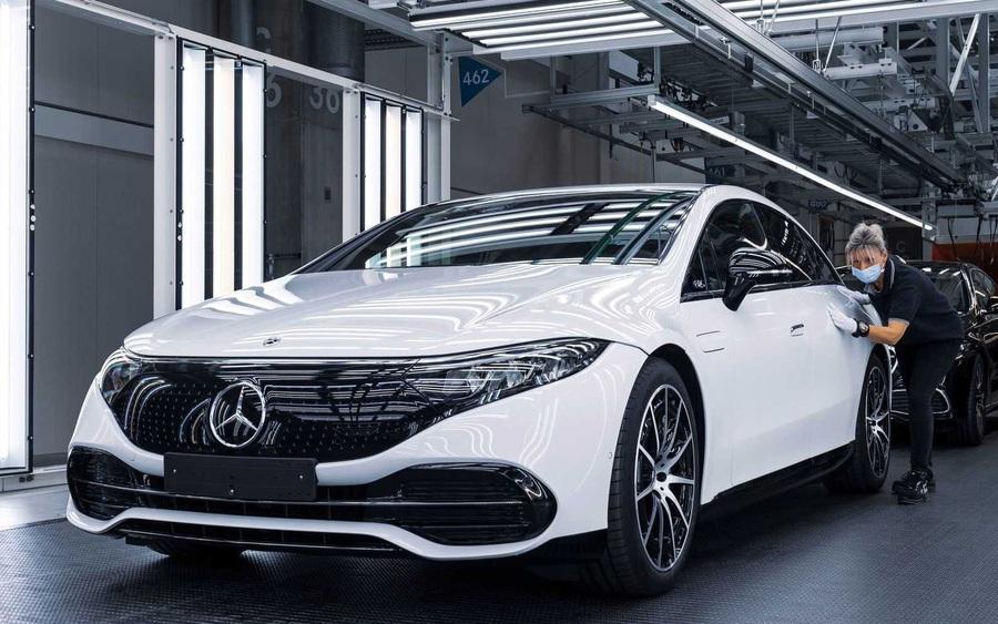 Siêu phẩm xe điện Mercedes-Benz EQS đã có giá bán, thấp nhất 106.000 euro
