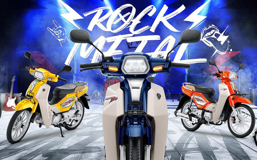 """Xe máy Thái """"bản sao"""" Honda Dream ra phiên bản mới, công nghệ xịn kèm giá 27 triệu đồng"""