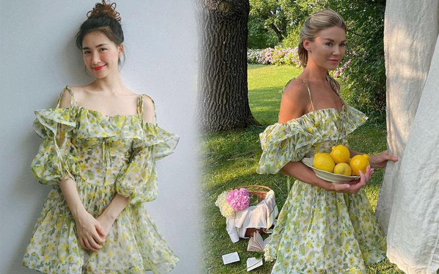 Chị em thi nhau hỏi info chiếc váy Hòa Minzy mới diện, ra là đồ local brand ai mua cũng khen hết lời