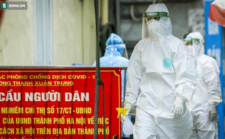 Hà Nội: Thông tin mới nhất về tình hình 'ổ dịch' ở Thanh Xuân Trung với 588 ca mắc Covid-19