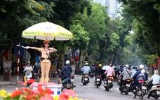 CSGT TP Hà Nội: Bảo đảm TTATGT phục vụ Đại hội Đảng bộ Thành phố lần thứ XVII