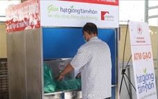 ATM gạo với công nghệ nhận diện khuôn mặt mới ở Đà Nẵng