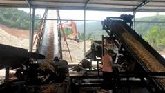 Nghệ An: Sản xuất dăm gỗ dưới chiêu bài chạy thử máy