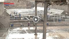 Kè kênh La Khê: An toàn lao động được đảm bảo trong quá trình thi công