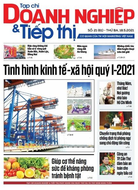 Tạp chí Doanh nghiệp và Tiếp thị - số 21 (61) ngày 18.05.2021